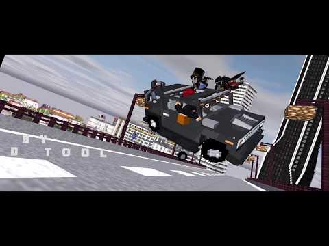 Minecraft Deadpool:  Opening Movie Animation