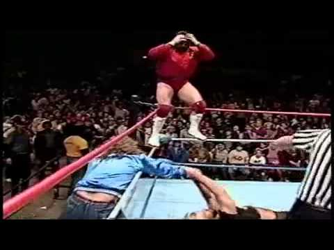 One Man Gang is awarded the UWF title