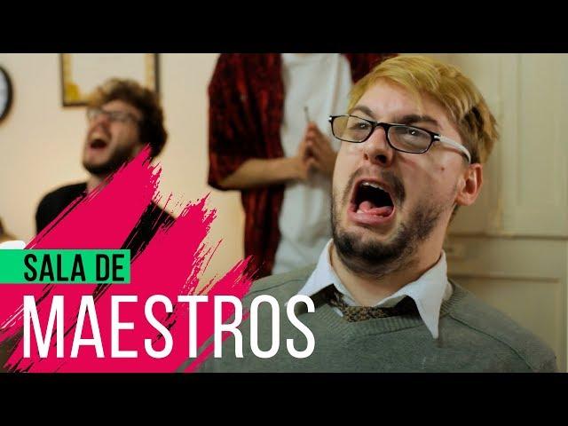 Hecatombe producciones sala de maestros  hecatombe!