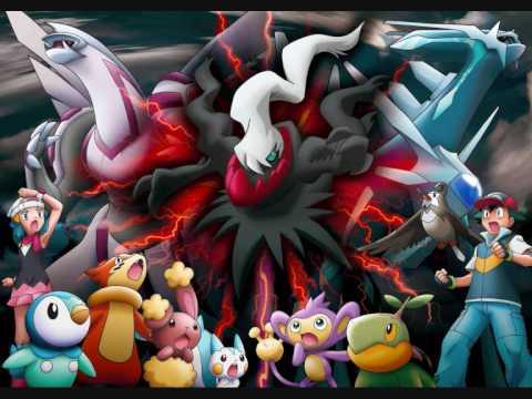 Pokemon The Rise of Darkrai Soundtrack - Dialga vs Palkia vs Darkrai