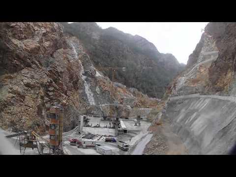 Timelapse Dam Construction - Timelapse Baraş İnşaat Süreci