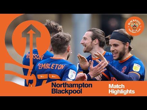 Northampton Blackpool Goals And Highlights