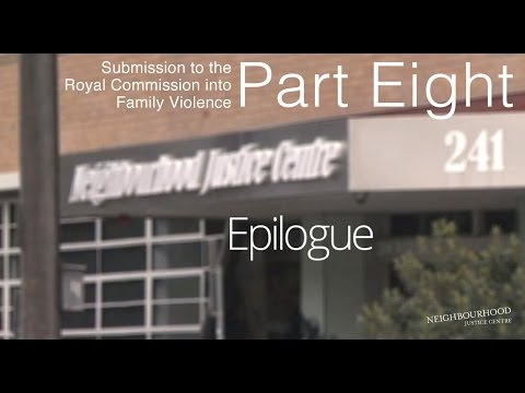 Submission to the Royal Commission into FV: Part 8 epilogue