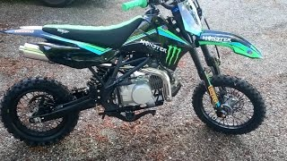 Pitbike dirt 140cc smx sx 2017 monster