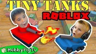 Winzige Tank Roblox! Lassen Sie uns PLAY mit HobbyFrog Team + Video Gaming PC Spiel App HobbyPigTV