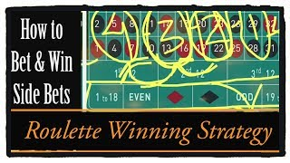 Earn easy money on Roulette wheel : How to Bets  And Win Side Bets  : Manage bank roll : make profit