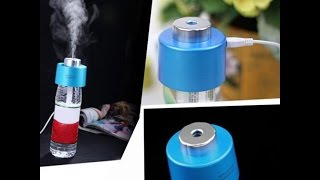 USB Portable Mini Water Bottle Caps Humidifier