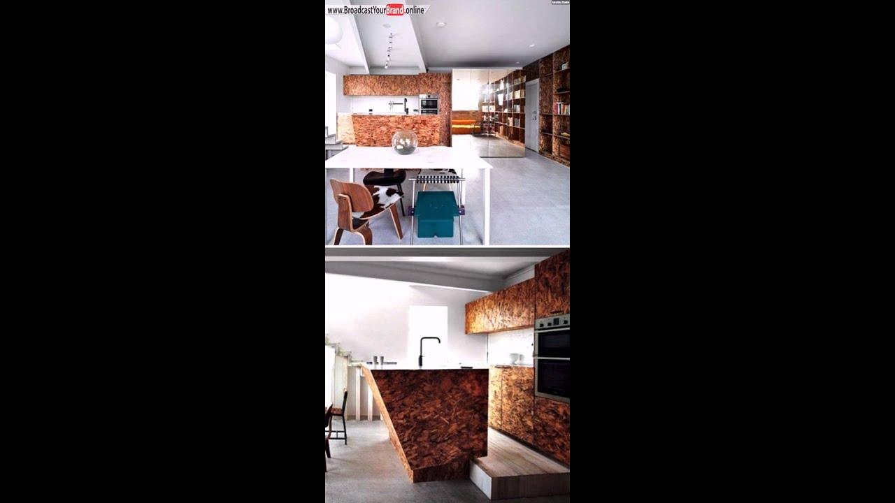 osb platten innenausbau k chenfront youtube. Black Bedroom Furniture Sets. Home Design Ideas
