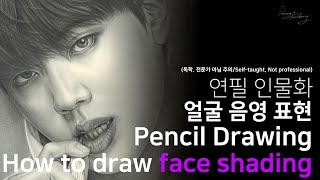 How to draw face shading -BTS …