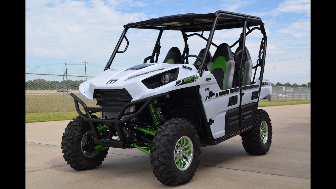 16 999 2015 Kawasaki Teryx4 Le Metallic Stardust White
