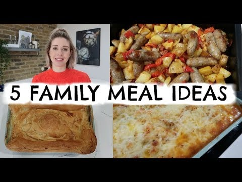 5 QUICK & EASY FAMLY MEAL IDEAS | WEEK OF MEALS | KERRY WHELPDALE