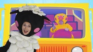Песенка про Автобус | Песни для Детей | Сборник развивающих песенок для Малышей | Чух Чух ТВ