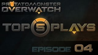 Overwatch Top 5 Plays Episode 4