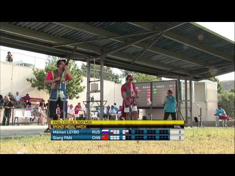 Men's Double Trap final - Nicosia 2013 ISSF World Cup