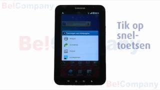 Samsung Galaxy Tab P1000 - Het personaliseren van je tablet