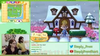 Animal Crossing New Leaf Stream - February 18th, 2017