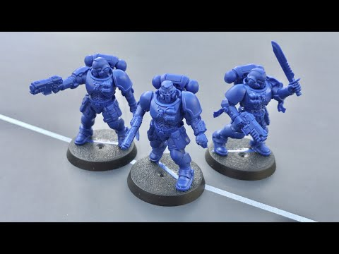 Primaris Space Marine Reivers Easy To Build: Model, Build and Tactics Review for WH40K 8th Edition