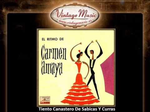 Carmen Amaya  - Tiento Canastero de Sabicas y Curras