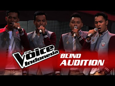 "Luigi ""Malam Biru"" I The Blind Audition I The Voice Indonesia 2016"