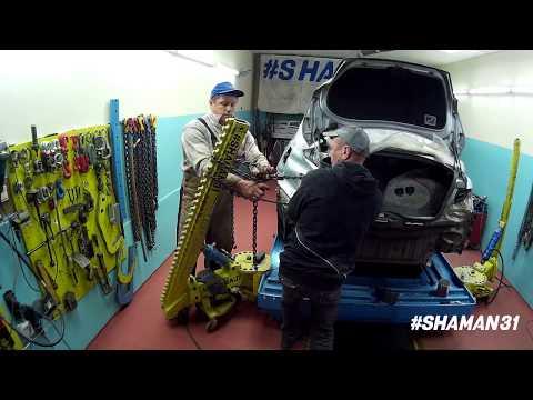 Toyota Mark X / Кузовной ремонт в Губкине / Shaman31