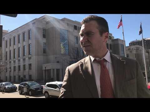 Mikhy Farrera Brochez's lawyer Jay Oakley, speaking to repor