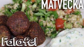 Vegansk Matvecka - Falafel Med Quinoa Tabbouleh
