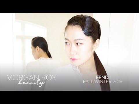 Fendi - Fall/Winter 2019 hairstyle