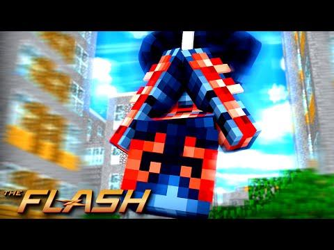 Minecraft : THE FLASH #7 - UM SUPER HERÓI DO FUTURO ?! SPIDER-MAN ?!