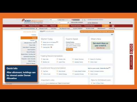 How to buy Corporate Bonds on ICICIdirect