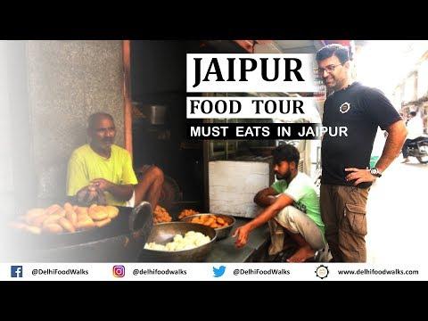 JAIPUR Food Tour I Rajasthan Food Tour