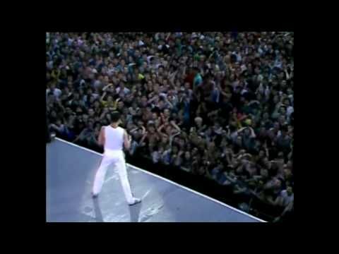 Queen  Another One Bites the Dust  @ Wembley 1986 HD