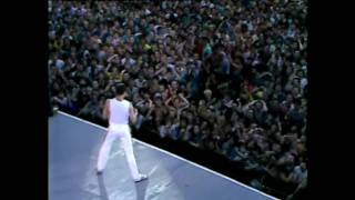 Queen Another One Bites The Dust Live Wembley 1986 HD
