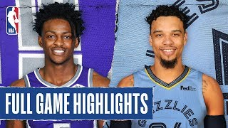 KINGS at GRIZZLIES | FULL GAME HIGHLIGHTS | February 28, 2020