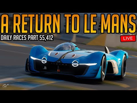 Gran Turismo Sport: Return to Le Mans | Daily Races Part 55,412