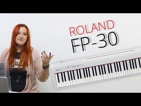 Пианино Roland FP-30. Самый честный обзор!! +Конкурс (Закрыт) и возвращение Оли