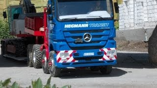 RC Mercedes ACTROS Mega Space MP3 Titan Hegmann Transit