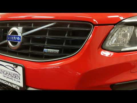 2015 Volvo XC60 T6 AWD R-Design Platinum in Passion Red - 637349A