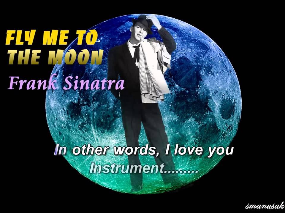 Fly Me To The Moon Karaoke Frank Sinatra Lyrics