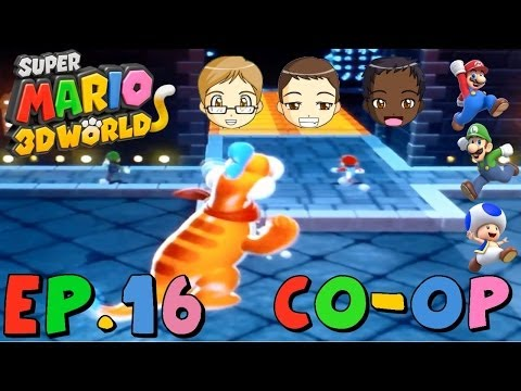Super Mario 3D World (Co-op) Episode 16 | Constantly Delayed News