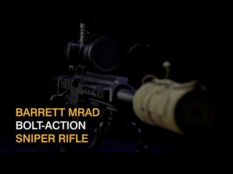 New Sniper Rifle for the NZ Army