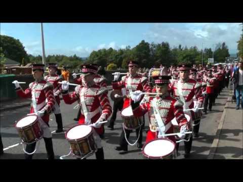 """Blackskull Corps of Fifes and Drums plays """"Moore Street"""""""