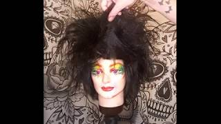Wig transformation: Robert Smith before & after