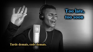 Too late, too Soon , cover - Thomas Andrade