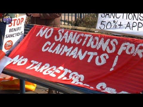 Benefit Sanctions Protest 19 March 2015