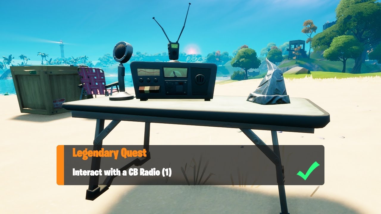 Download Interact with a CB Radio (1) - Fortnite Week 5 Legendary Quest
