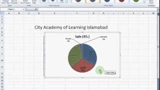 Excel 2007 Tutorial in Urdu, Cali.pk , Lesson-12