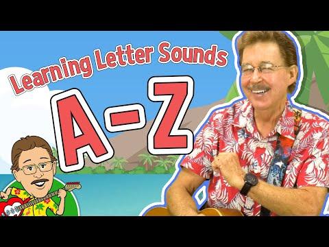 Download Learning Letter Sounds A-Z | Jack Hartmann | Jan Richardson's Alphabet Chart