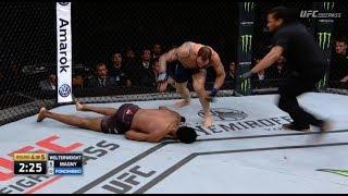 Neil Magny vs  Santiago Ponzinibbio Full Fight Review UFC Argentina, Magny Gets KO