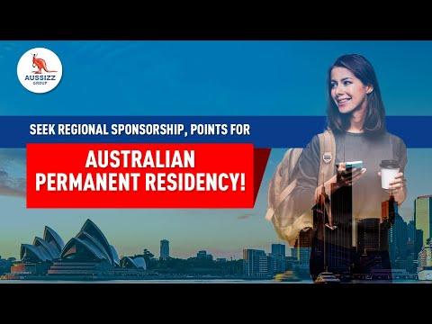 Seek regional sponsorship, points for Australian Permanent Residency!