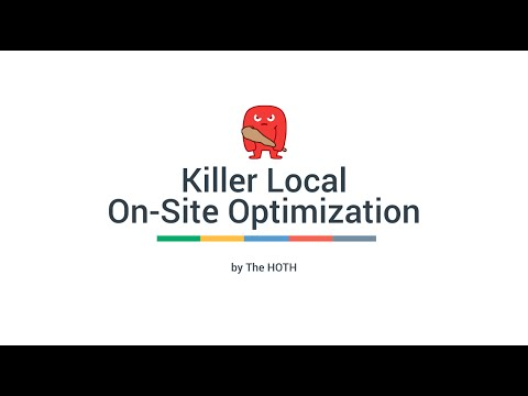 Local SEO On-Site Optimization